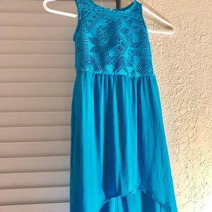 LITTLE GIRLS BLUE DRESS SIZE 4/5